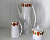 Ben Seibel- Forum International- coffee set- mid century coffee set