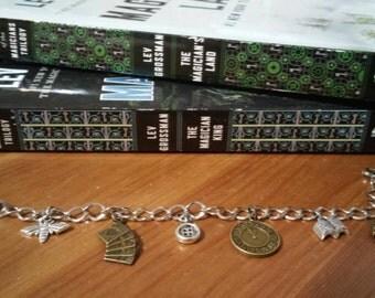 The Magicians Fillory Quentin Bracelet Charm Bracelet Books TV Show