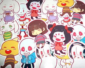 UNDERTALE sticker set