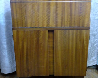 Midcentury Modern Validity bar cabinet liquor server station home entertainment furniture
