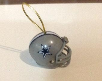 Dallas Cowboys  Football Helmet Christmas Ornament