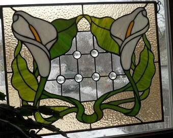 """Beautiful Calla Lilly Panel 16.5"""" x 20.5"""""""