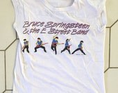 """vintage BRUCE SPRINGSTEEN shirt - """"Born In The USA Tour 1984-1985 - Size Small"""
