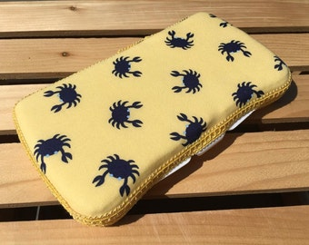 Baby Wipes Case, Wipes Case, Travel Wipes Case, Nautical Wipes Case