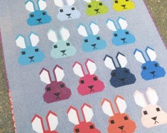 Bunny Quilt Pattern by Elizabeth Hartman