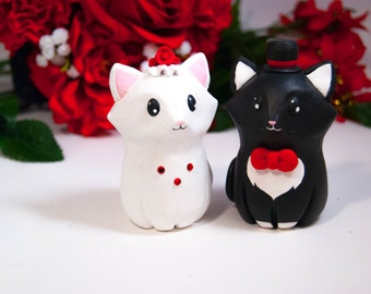 Cat Wedding Cake Toppers