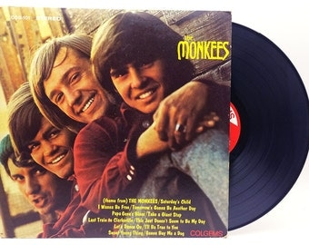 The Monkees Rock Folk Vintage Vinyl Record