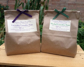 Laundry Soap By the Pound! All-natural, eco-friendly laundry soap and detergent, vegan and palm-free