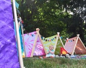 A Frame Tent - 100% custom and handmade play tents
