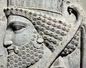 Travel Photography, Persepolis, Warrior, Iran, Persia, Home Decor, Wall Art, Fine Art Print, Photography, Gift for him, Christmas gift idea