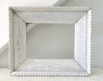 Vintage White Frame Rustic White Wood Shabby Chic