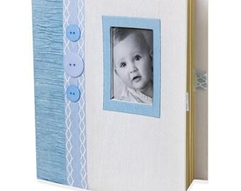 Baby Boy Keepsake Memory Book