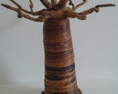 RESERVED FOR BUYER - Hand crafted Baobab tree