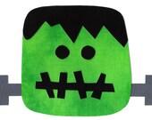 Halloween Frankenstein iron on applique DIY