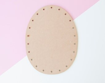 Laser Cut MDF BACK for Sincerely Louise giant knitted heads