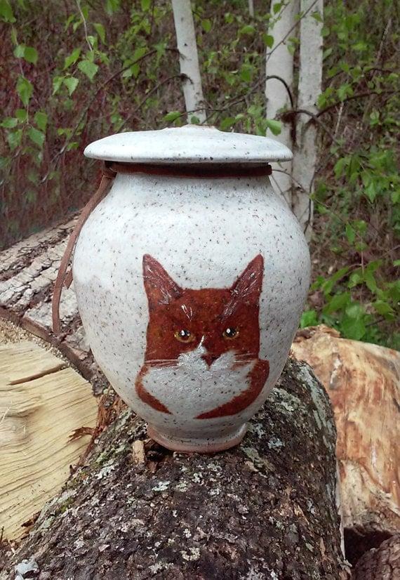 Cat Urn Pet Cremation Urn