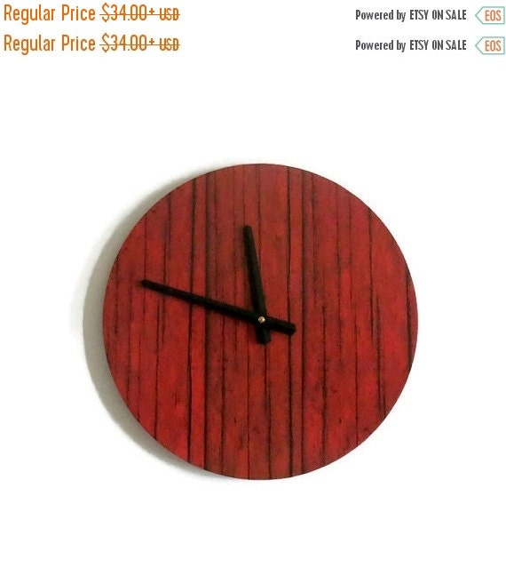 Sale Sale Rustic Wall Clock Unique Wall Clock Home By