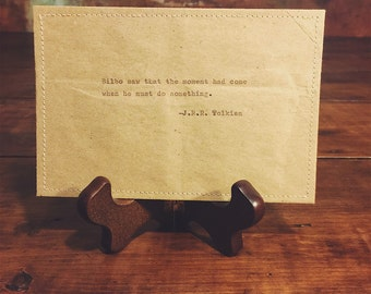Bilbo postcard