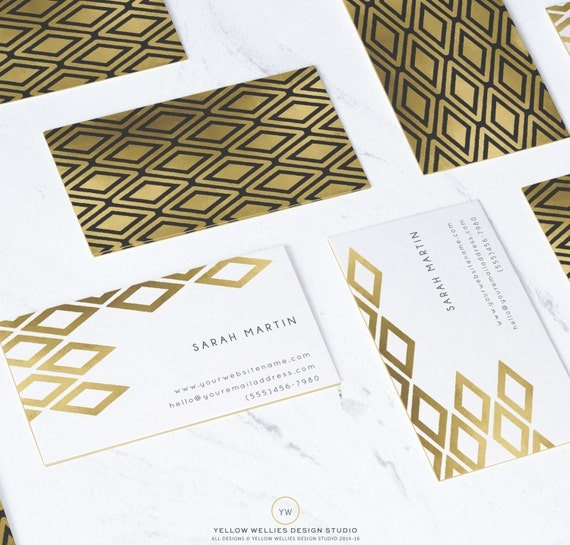 business card template moo gold foil template photoshop