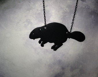 Busy Beaver Necklace