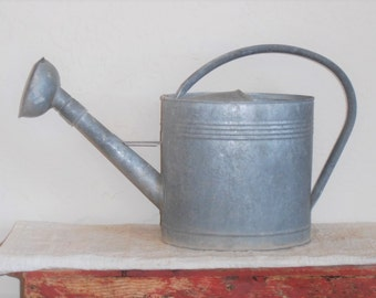 Antique Vintage Watering Can-Large