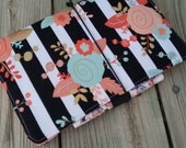 Fauxdori Midori cover Fabric Travelers Notebook Made to order!