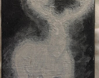 Stag patronus painting