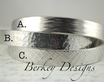 Design Your Own Bracelet - 1/2 Inch Hand Stamped Bracelet by Berkey Designs