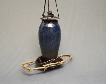 Pottery Bird Feeder, Available Now!