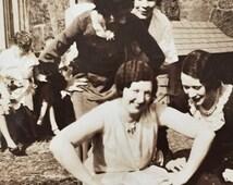 Original Antique Photograph Girls Just Wanna Have Fun