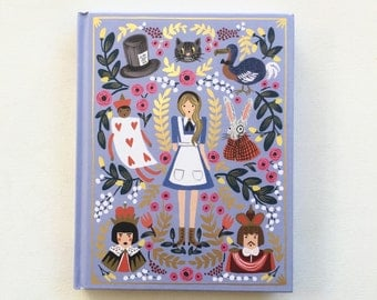 The Alice in Wonderland Book Tablet Cover Case-  (iPad / iPad Air / Kindle Fire 8.9 / Nexus 10 / Samsung 10.1 / Hardcover / Book)