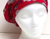 Ladies Surgical Scrub Hat - Cap - Bouffant - NE Patriots