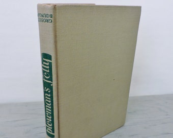 Vintage Agriculture Book - Plowman's Folly by Edward H. Faulkner - 1943 - Gardening - Farming