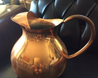 Copper Jug Portugal Vintage