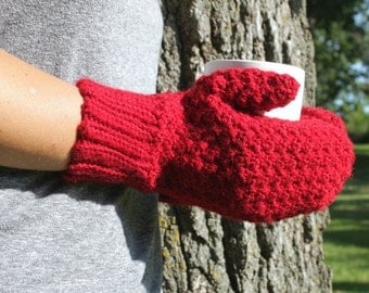 Womens Mittens, Crochet Mittens, Crochet Winter Mittens, Mens Mittens, Made to Order