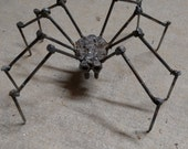 Modern Metal Sculpted Spider (Scarespider)