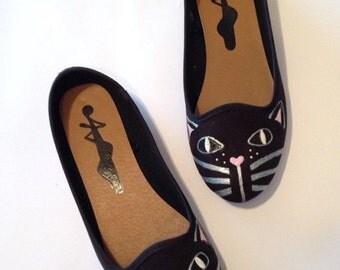 Black Cat Shoes