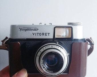 SALE Vintage Voigtländer Vitoret Camera with original case