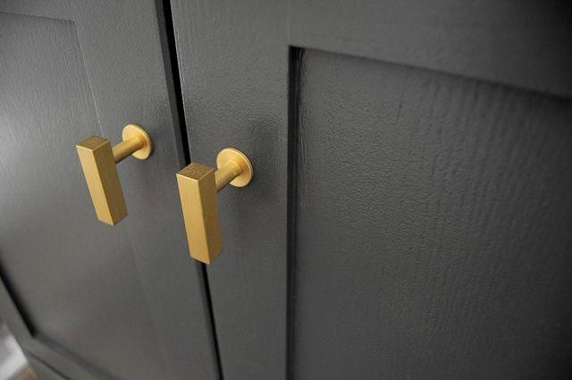 european cabinet brass knob pull kitchen by