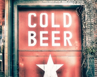 Cold Beer Photo Print