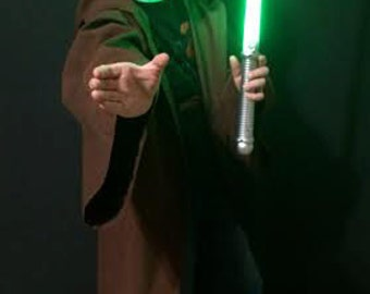 Anakin Skywalker Style Robe / Jedi Robe / Star Wars / Boys Jedi Robe / Toddlers Jedi Robe / Toddler Costume / Halloween Costume for kids /
