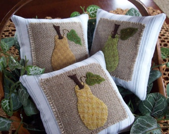 French Pears Bowl Filler Pillow Tucks