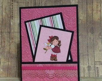 Greeting card, handmade card, greeting card, all occasion card