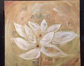 Lotus Flower Collage