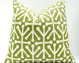 Decorative Pillows  - Throw Pillow Covers - Green Pillows - Green Pillow - Pillow covers - Pillow covers 20x20 - Pillow Covers 18x18
