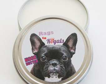 DOG NOSE BUTTER, Rags To Royals Limited Editions, Balm Moisturizer, French Bulldog Nose Moisturizer, English Bulldog Nose Butter, Dry Nose
