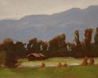 Original Painting - Napa