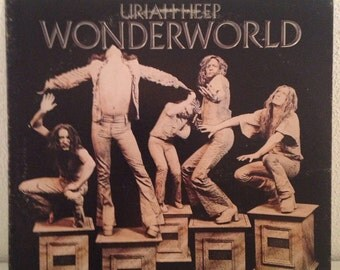 Uriah Heep • Wonderworld • W2800 • Vintage Vinyl • 1970s Rock