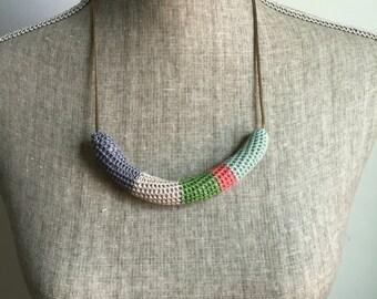 Crochet Vintage Chain Necklace
