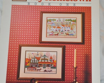 Charles Wysocki - My Hometown Book one - Cross stitch leaflet